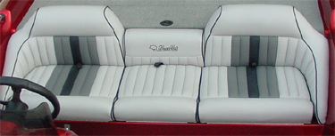 Tuck and roll bench seat bench seat skins