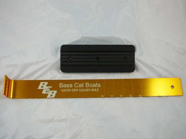 Bass cat measuring board for Fish measuring board