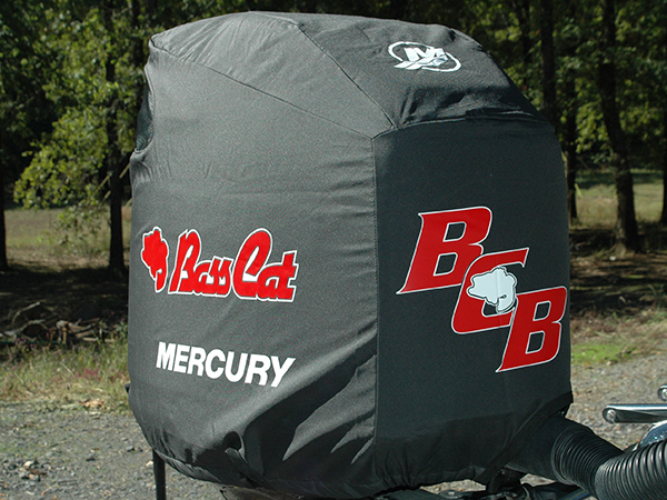 Motorcover Side on Mercury Outboard Cover