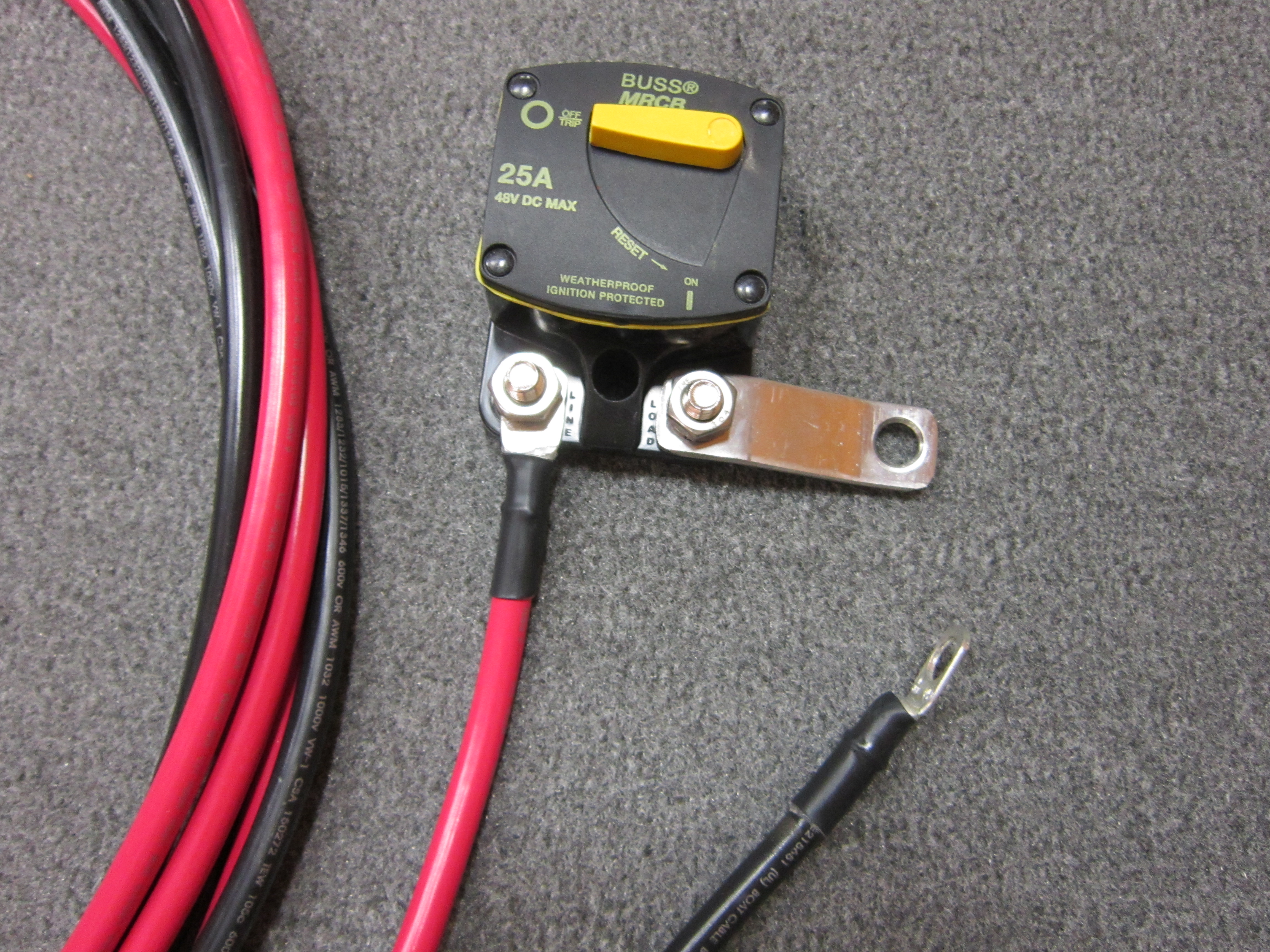 Power Cable for Graphs