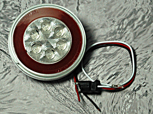 led brake light strip with turn signals