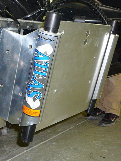 Th Marine Atlas 8 Inch Hydraulic Jackplate