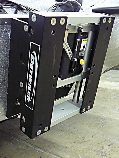 Detwiler 8 Inch Hydraulic Jackplate
